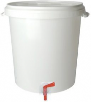 Craft Range Double Bottling Bucket 32 Litre With Two Taps And Two Filling Sticks